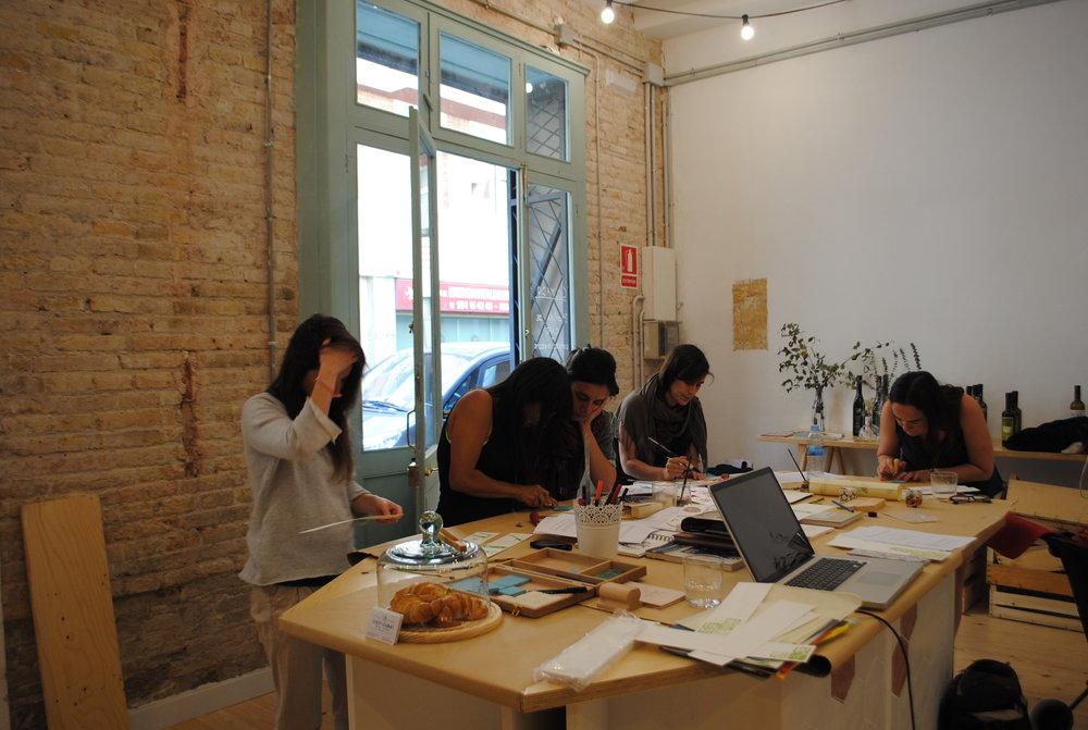 Slow mov / curso de sellos. Barcelona.