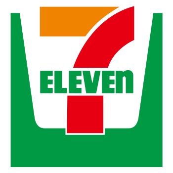 """Seven eleven logo"" by [2] - [1]. Licensed under Public Domain via Commons - https://commons.wikimedia.org/wiki/File:Seven_eleven_logo.svg#/media/File:Seven_eleven_logo.svg"
