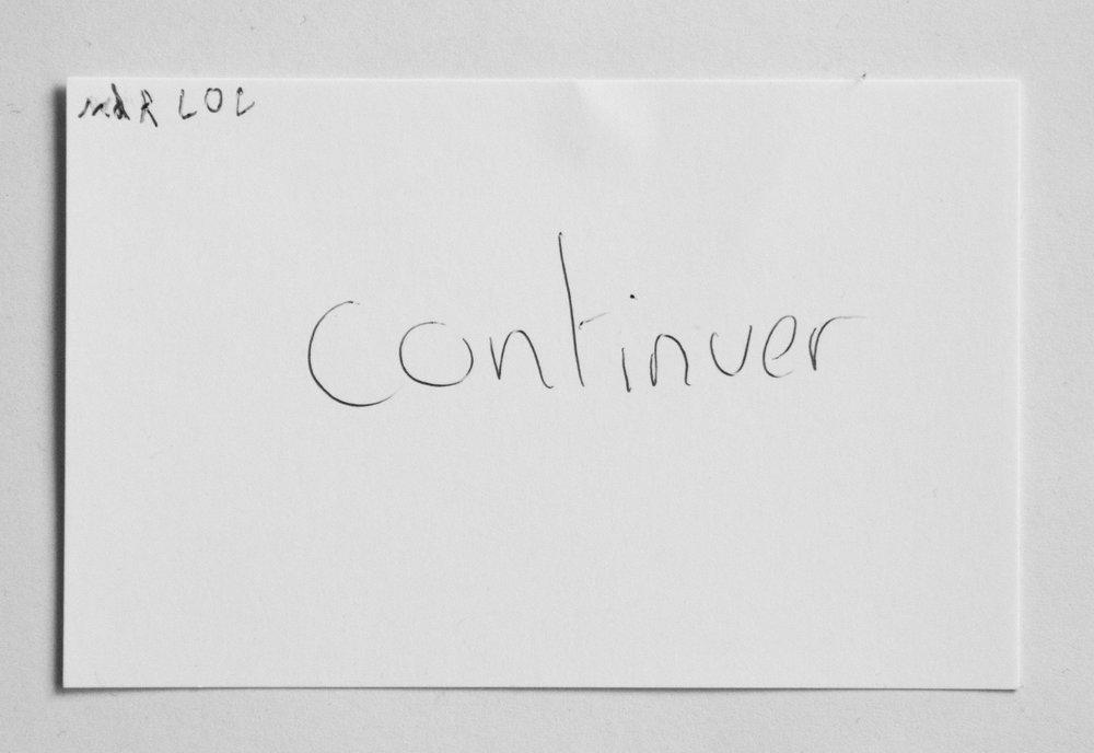 """réponse donnée par un visiteur à la question """"Et maintenant?""""  juin 2016 - La cité de l'eau - Publier"""