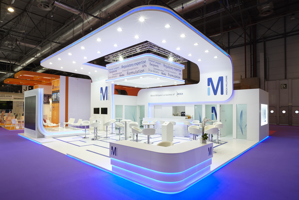 CPHI, Madrid, Spain  Client: Merck Millipore, 150 sqm