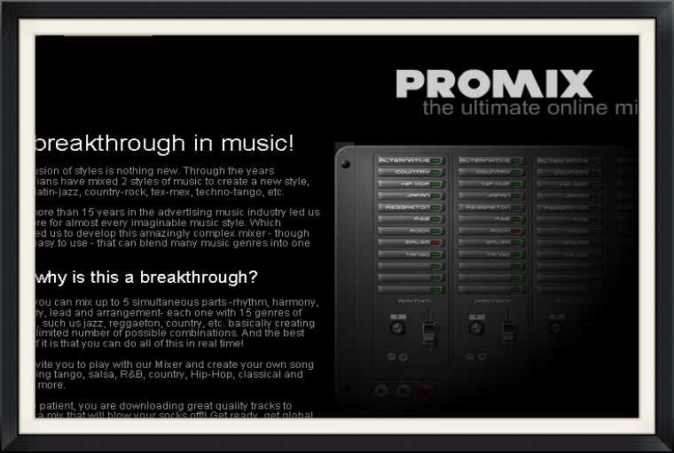 Digital and Music Project. Try it out!