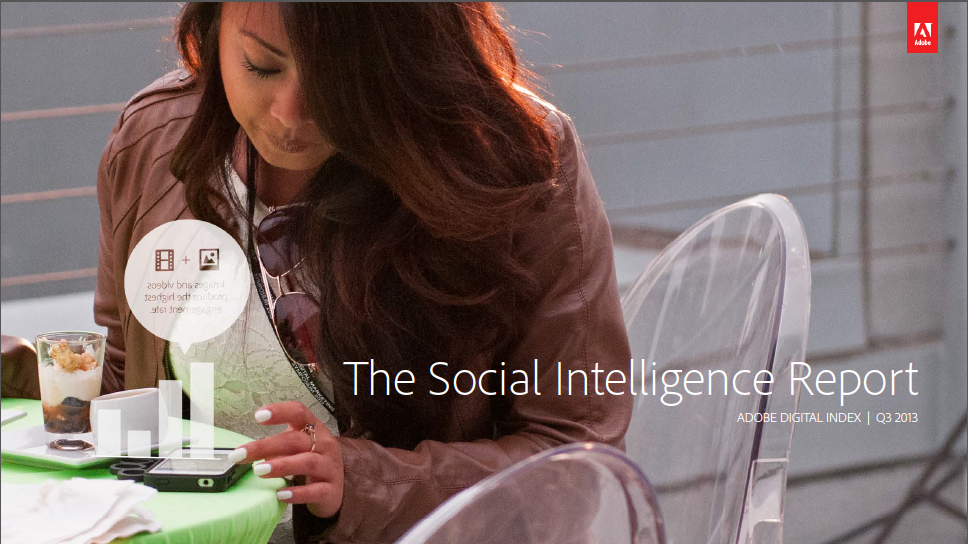 Adobe's Social Intelligence report is out.