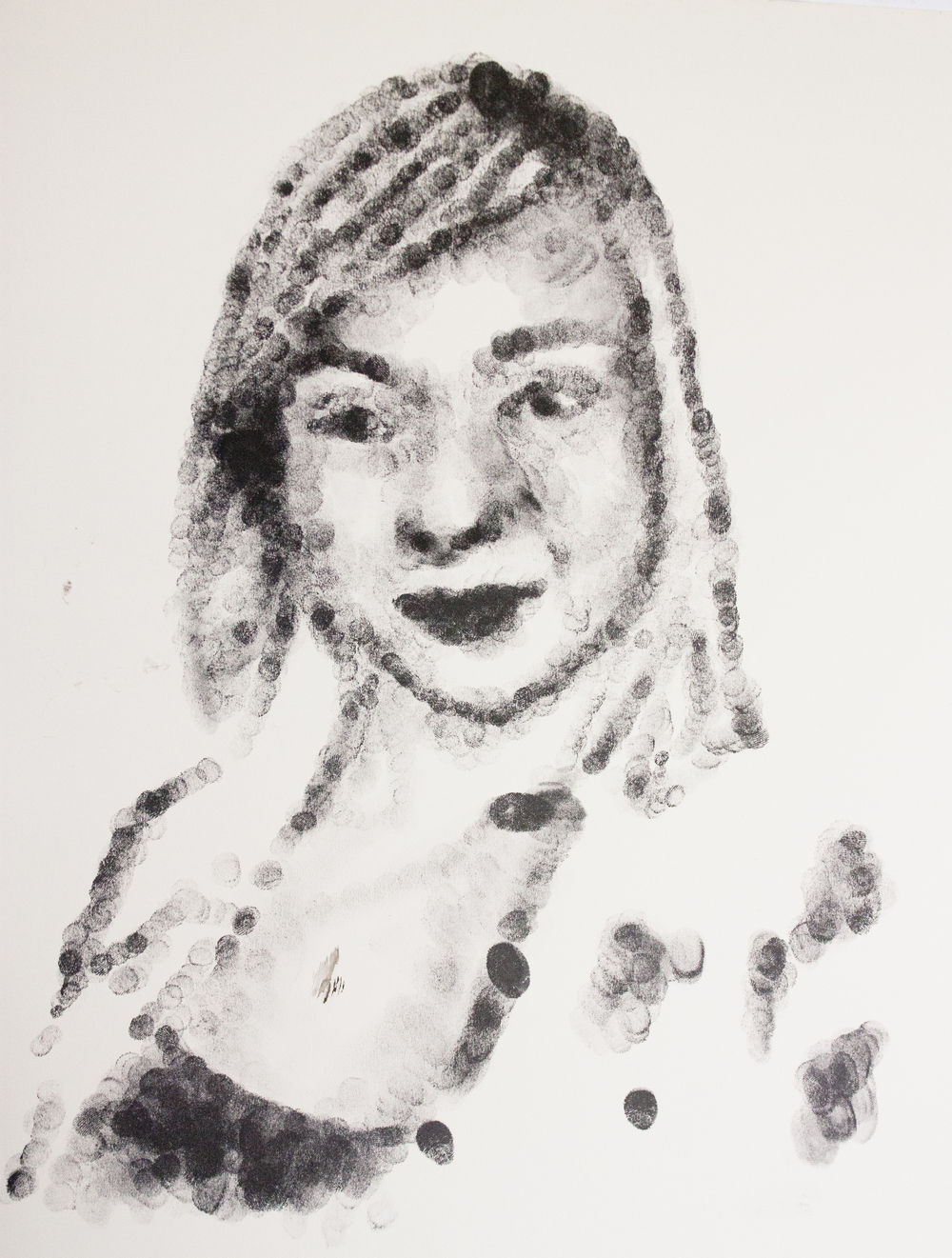 Fingerprint Self Portrait