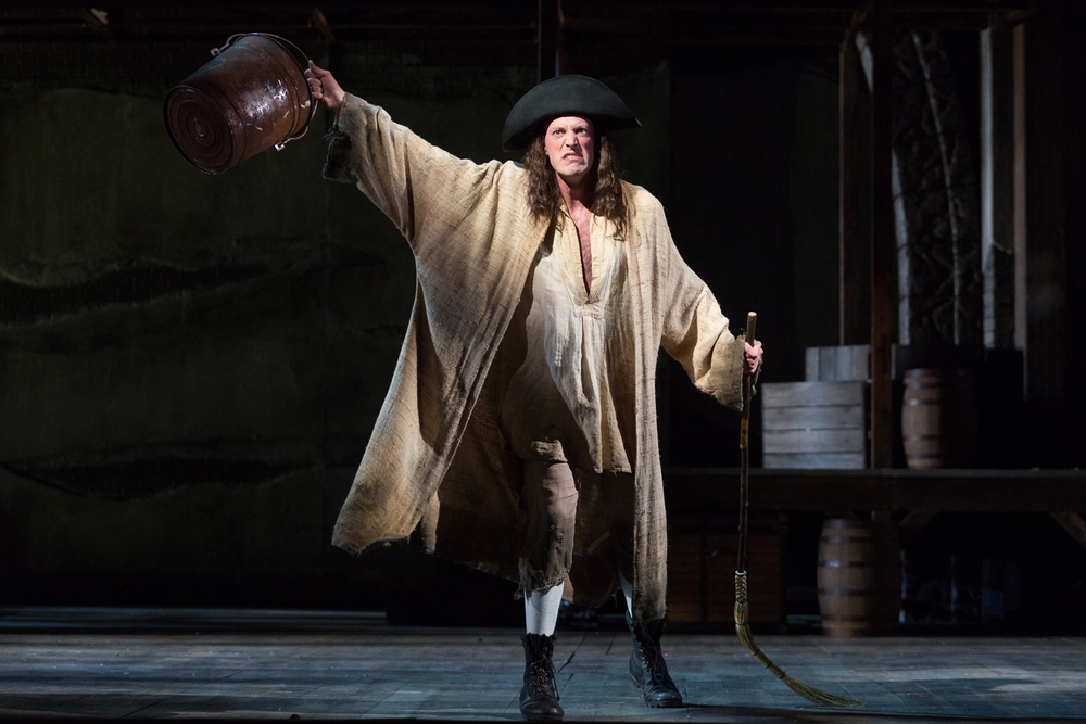 Matthew Scollin as Martin in The Glimmerglass Festival production of Bernstein's  Candide .