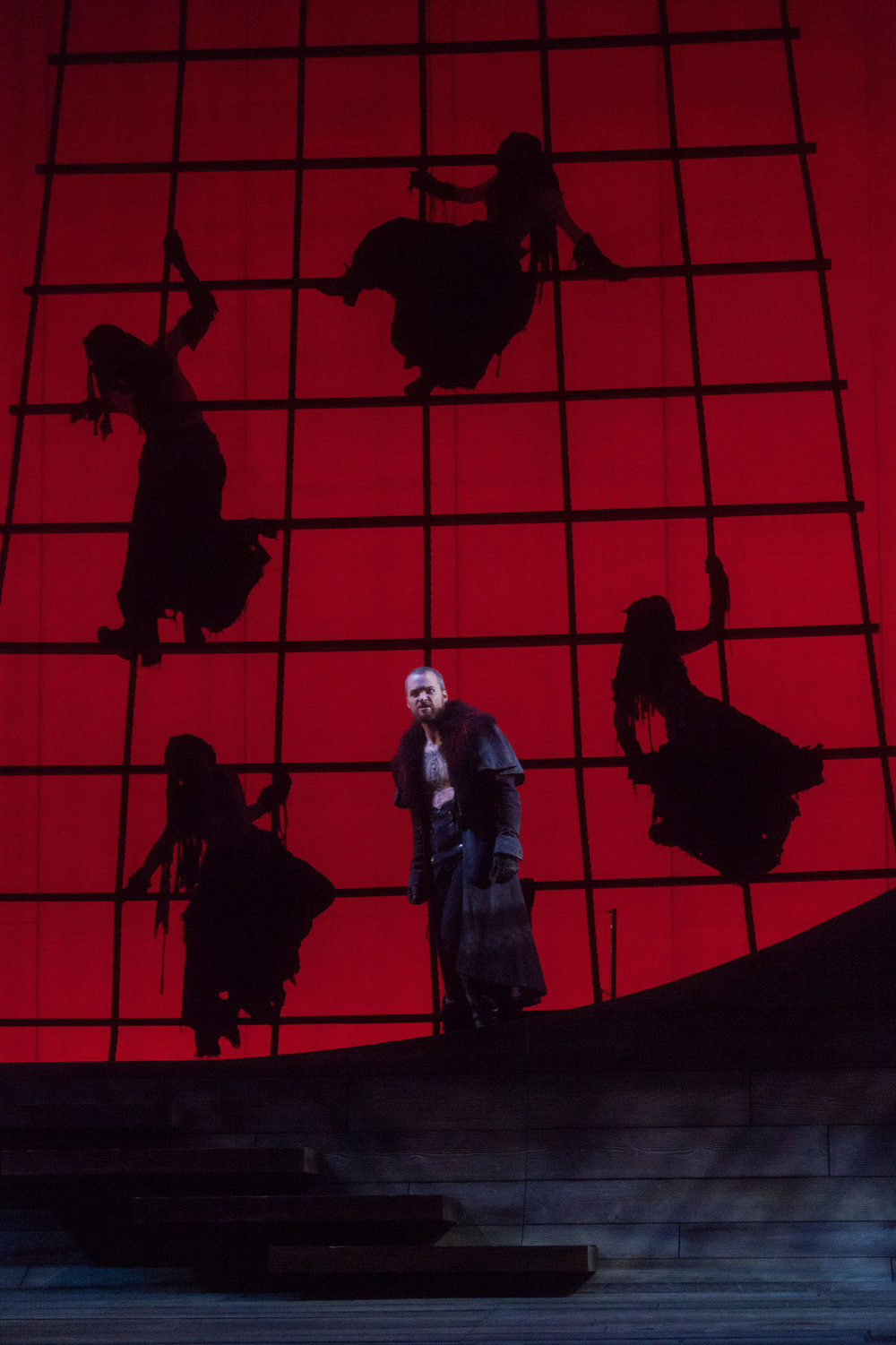 Ryan McKinny as the Dutchman in The Glimmerglass Festival's 2013 production of  The Flying Dutchman .