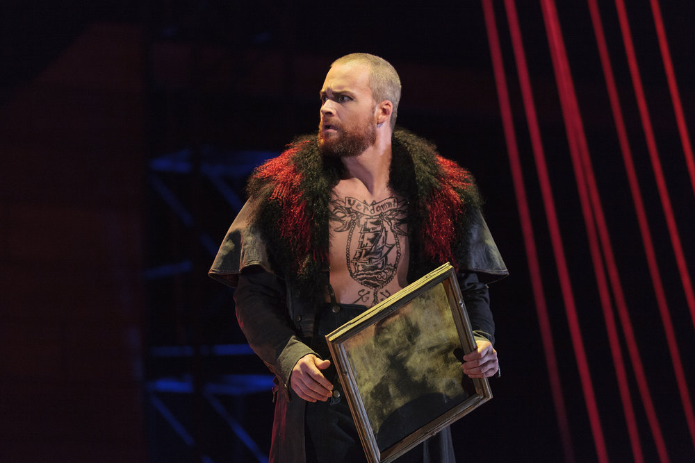 Ryan McKinny as the Dutchman in The Glimmerglass Festival's 2013 production of Wagner's  The Flying Dutchman .
