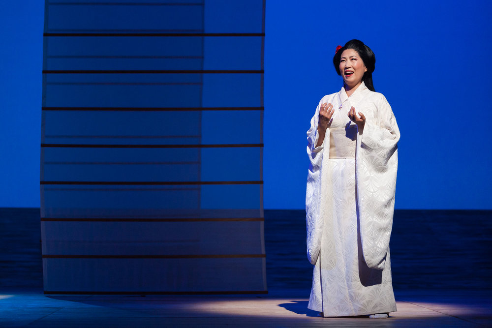 Yunah Lee as Cio-Cio-San in The Glimmerglass Festival's 2014 production of  Madame Butterfly .