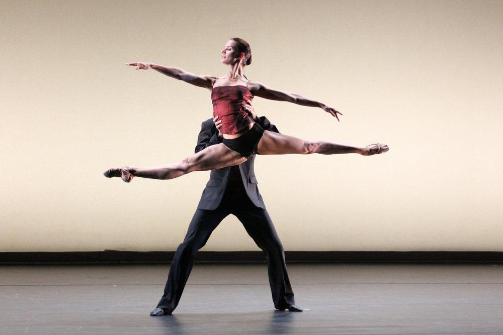 Ballet Maribor presents  Radio and Juliet.  Jacob's Pillow Dance Festival, 2009.