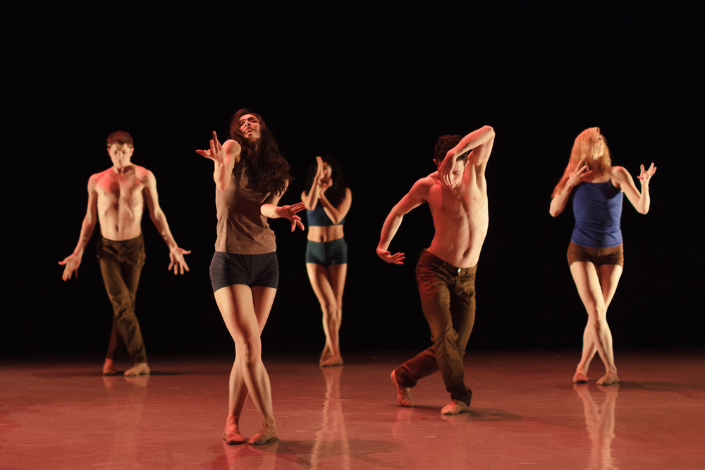 Blue  (2014, world premiere). Choreography by Igal Perry.