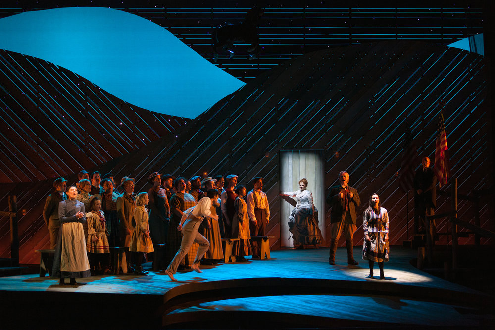 The Glimmerglass Festival production of Rodgers and Hammerstein's  Carousel .