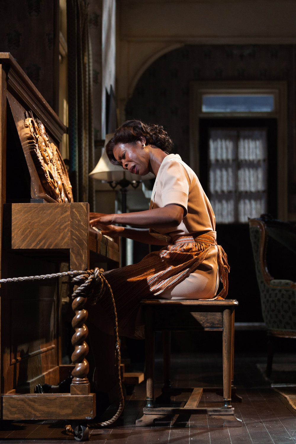 Roslyn Ruff as Berniece in the Signature Theatre Company production (2012) of August Wilson's  The Piano Lesson . Photographed for The New York Times.