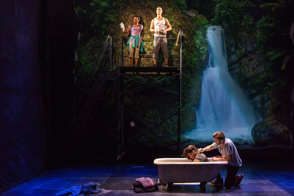 The Second Stage Theatre production of  Water by the Spoonful . Photographed for The New York Times.