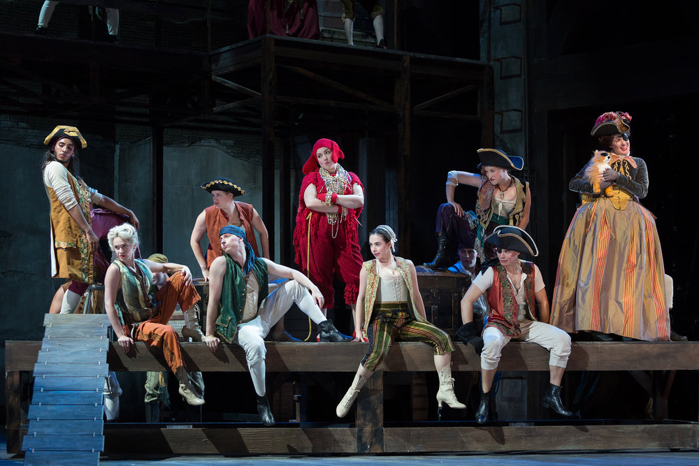 The Glimmerglass Festival production of Bernstein's  Candide .