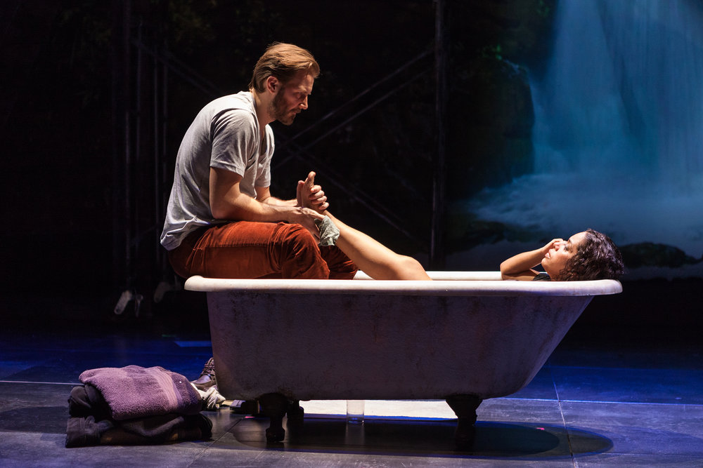 The Second Stage Theater production of  Water by the Spoonful . Photographed for The New York Times.
