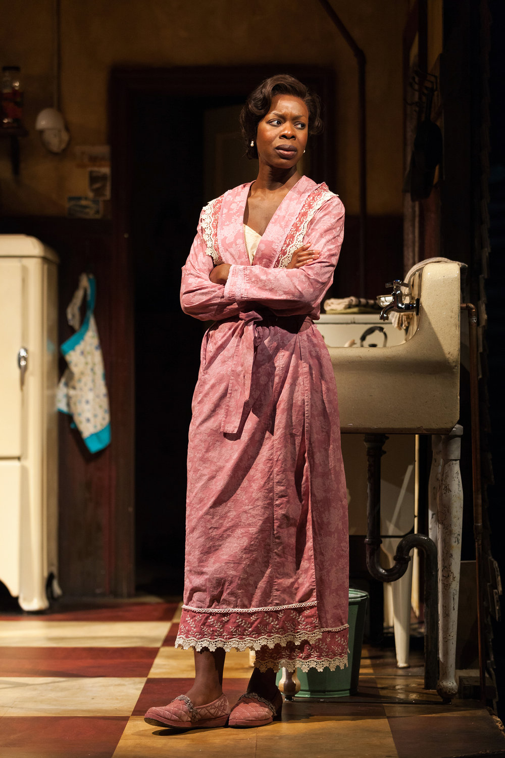 Roslyn Ruff as Berniece in the Signature Theatre's production (2012) of August Wilson's  The Piano Lesson . Photographed for The New York Times.