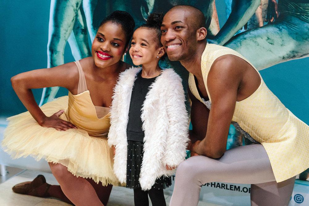 Dance Theatre of Harlem, Meet the Ballerina event.