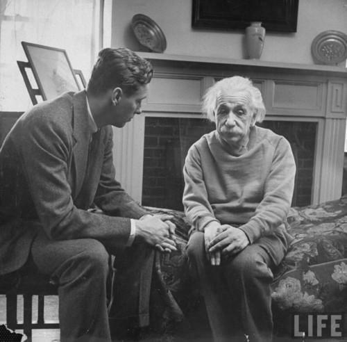 Einstein The Universe is FLAT.jpg