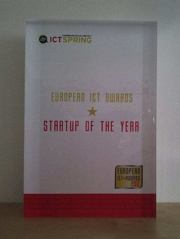 european ict awards best startup