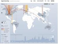 Figure 18: Digital Attack Map Source:TheGuardian.com