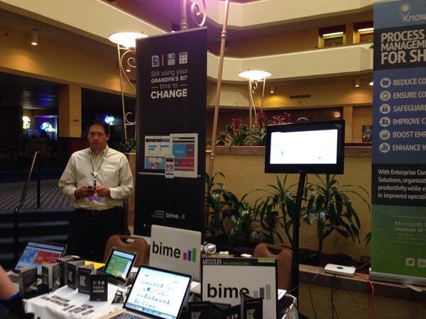 BIME @ The Missouri Digital Government Summit