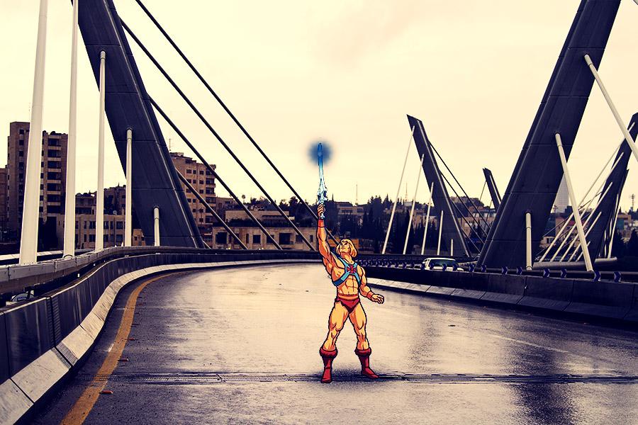 He-Man in Abdoun Bridge