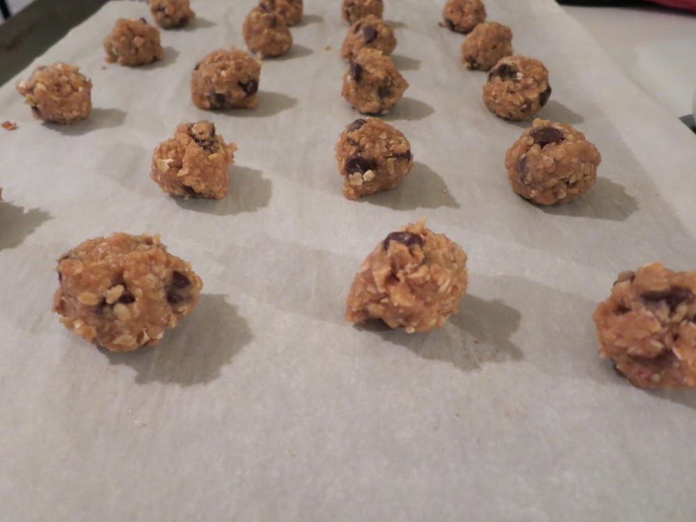 cowboy cookie dough balls