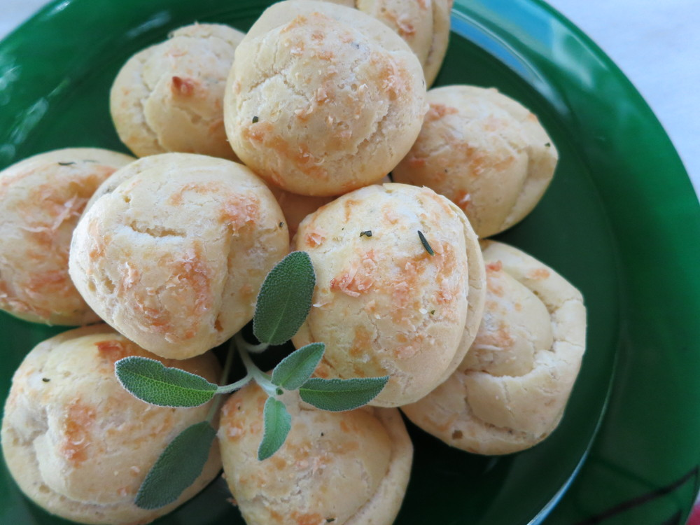 Rosemary & Sage Gougeres