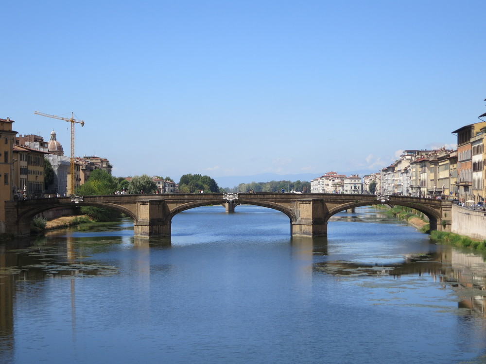 Ponte Vecchio (Old Bridge), overlooking the Arno River