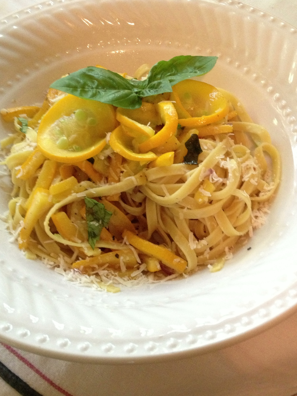 Linguine and Squash
