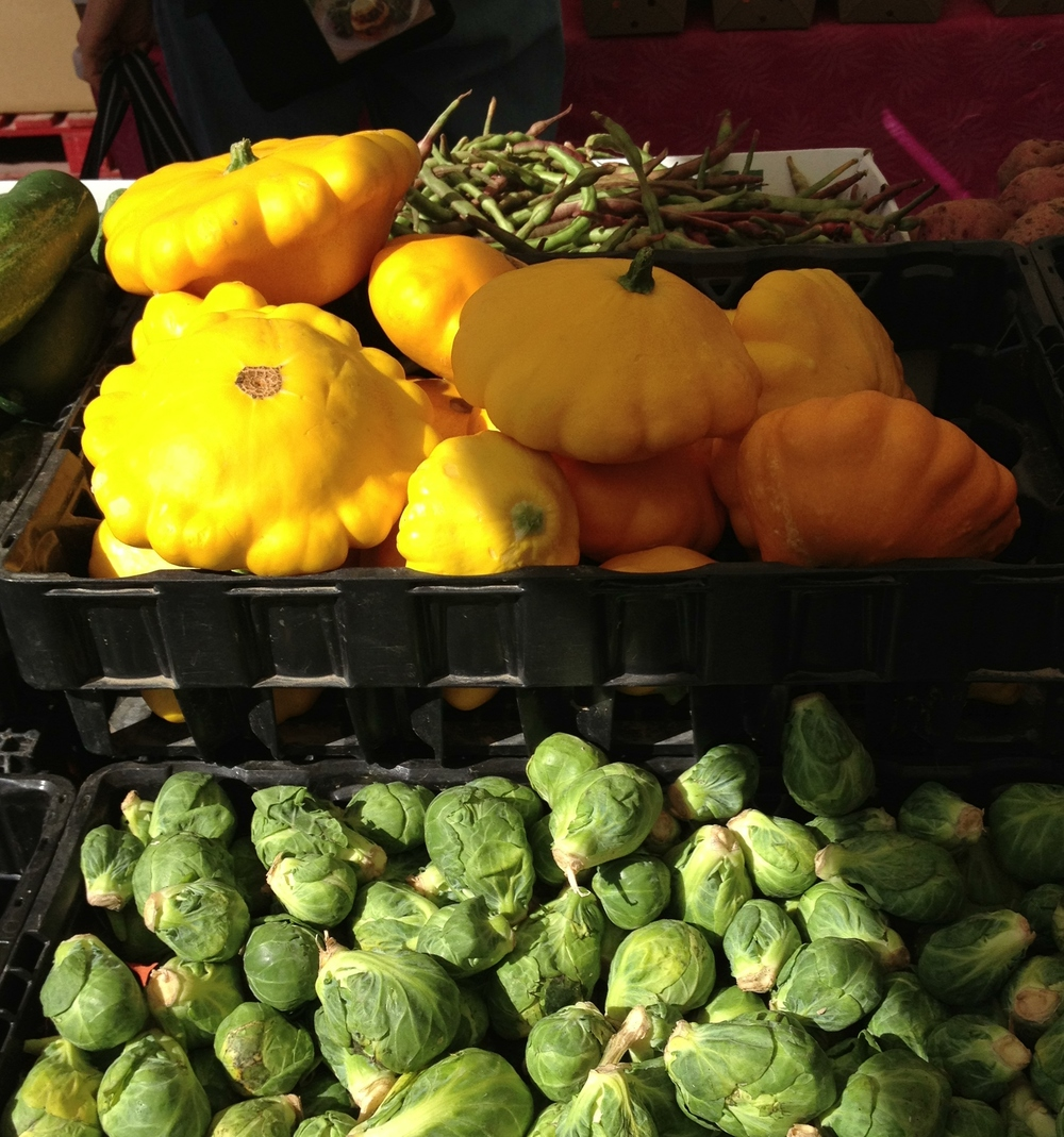 Pattypan Squash at Ferguson Farmers' Market