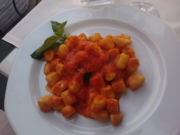 Gnocchi at Vincenzo's