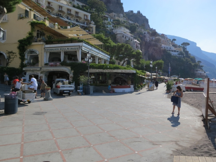 Positano- beachside