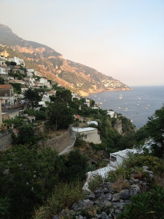 Positano- looking South