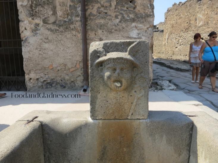 Aqueduct fountain- Pompeii