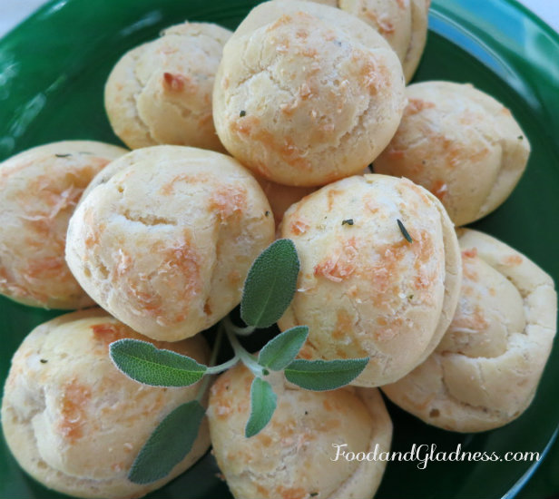 Rosemary and Sage Gougeres