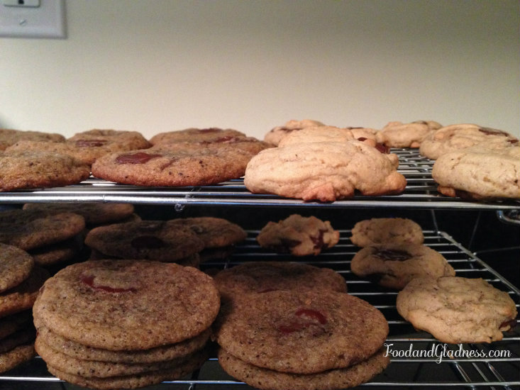 Mocha chip cookie trials food and gladness