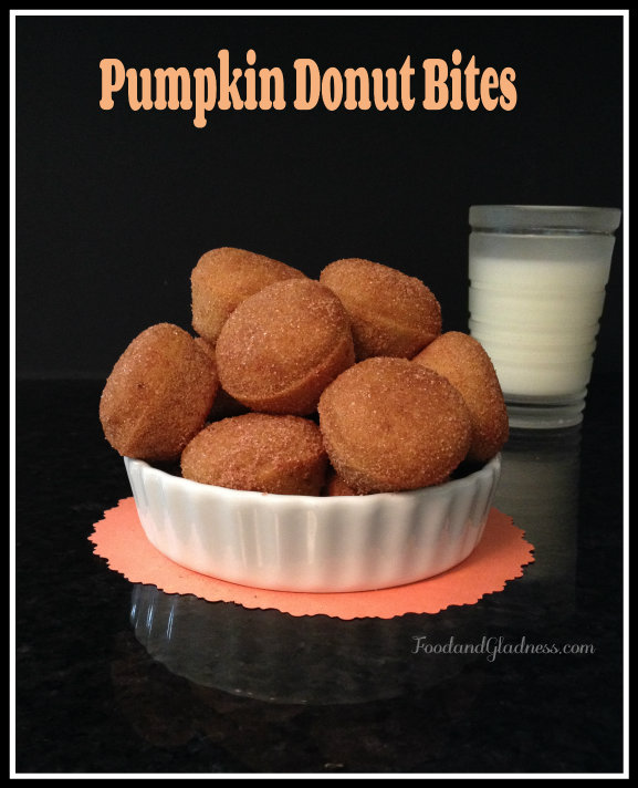 Baked Pumpkin doughnuts food and gladness