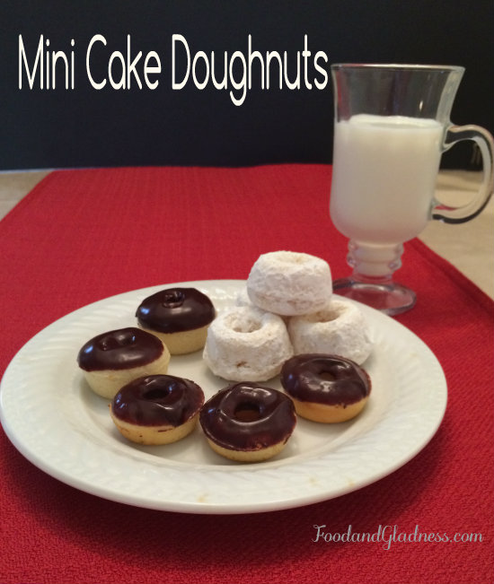 mini cake doughnuts food and gladness