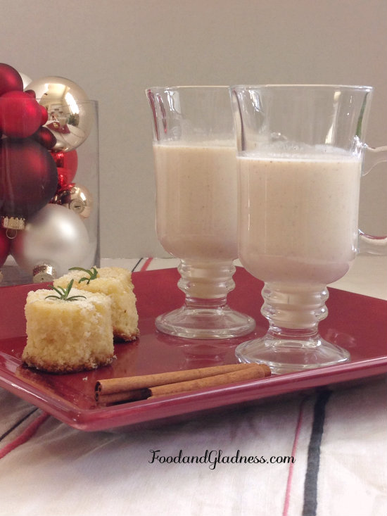 Holiday Eggnog with Safest Choice eggs