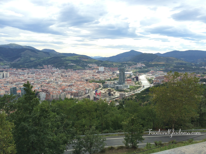 view of Bilbao