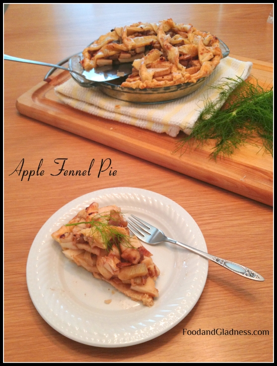 Apple Fennel Pie