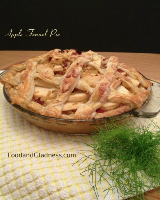 Apple Fennel Pie FoodandGladness