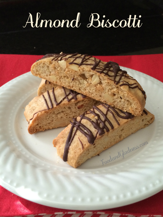 Almond biscotti from Food and Gladness