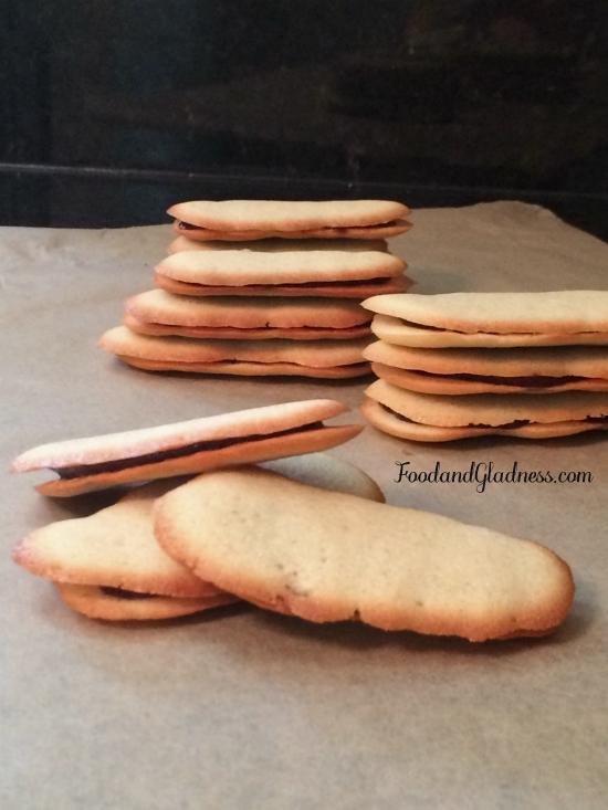 Milano cookies aka Langues de Chat