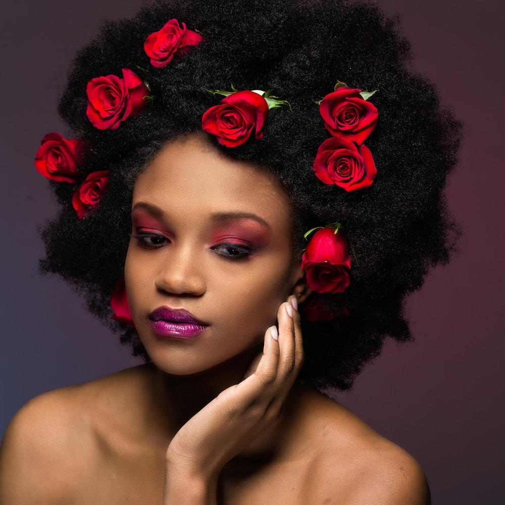 Zakeya Brown / MUA: Sasha Starz