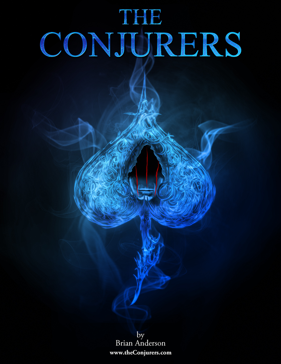 """book cover for """"The Conjurers"""""""