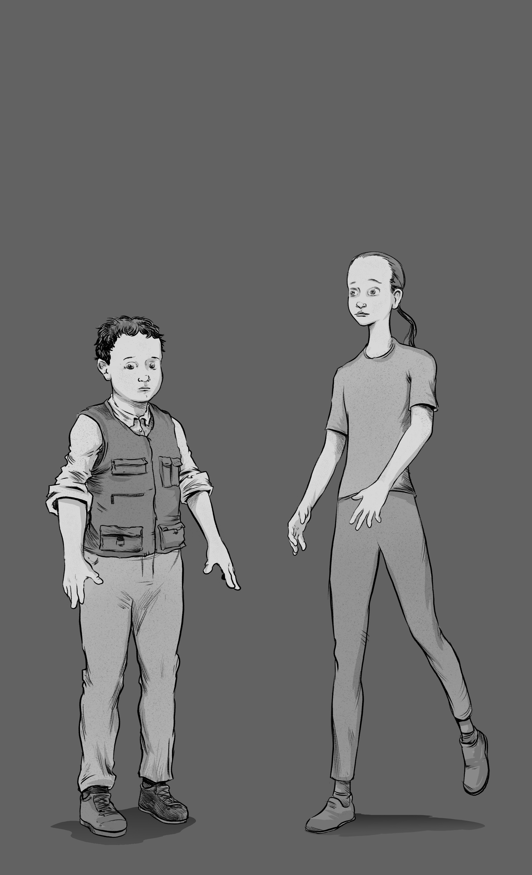 main characters from the Conjurers Book one