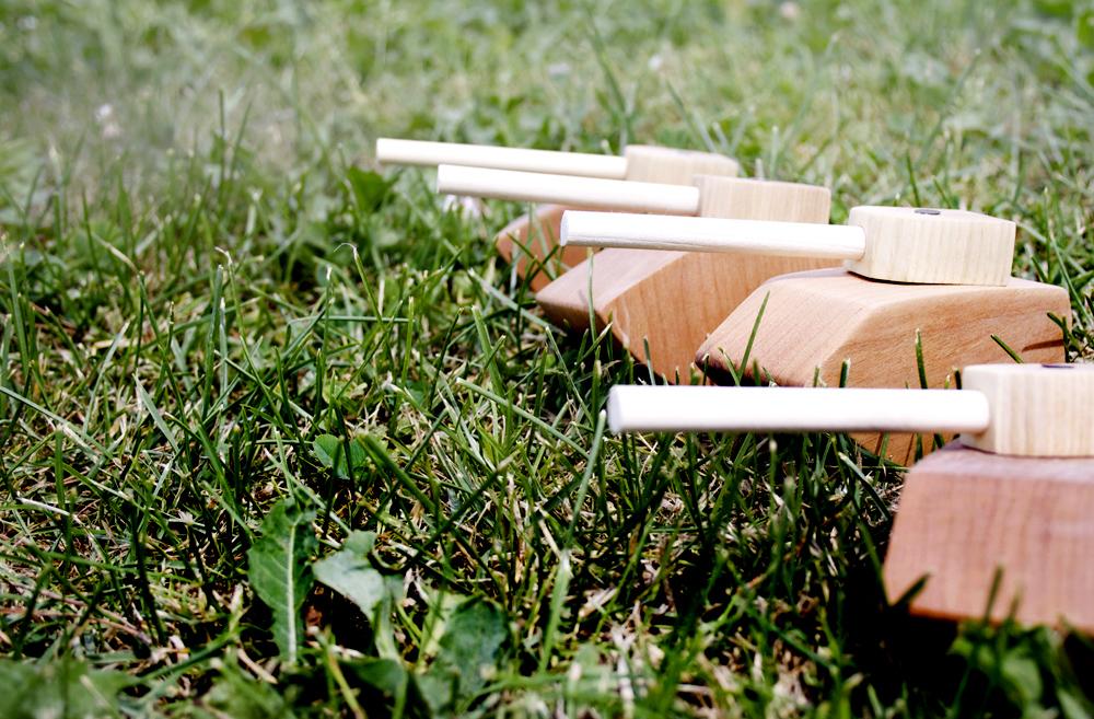 Wooden War Toys