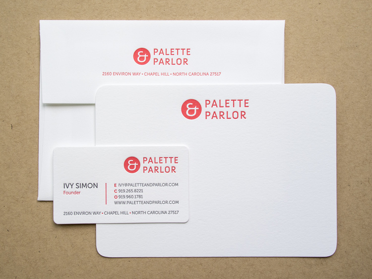 The parklife blog we printed note cards and business cards with custom inks on 300g fluorescent white lettra paper with die cut corners and matching a6 envelopes reheart Gallery