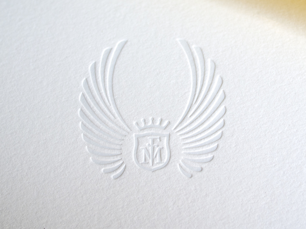 Letterpress Note Card